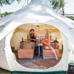 Glamping i Visby